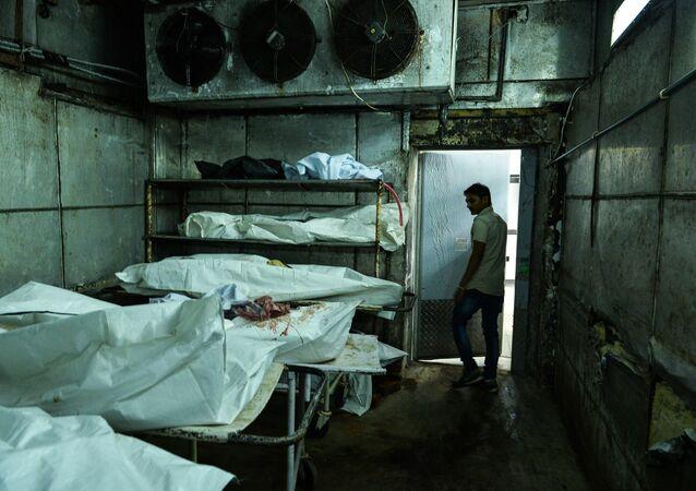 Cold Storage Unit in Morgue