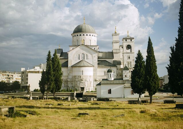 Cathedral church of the Resurrection of Christ in Podgorica