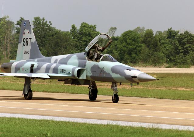 File Photo of F-5E Royal Thai Air Force jet