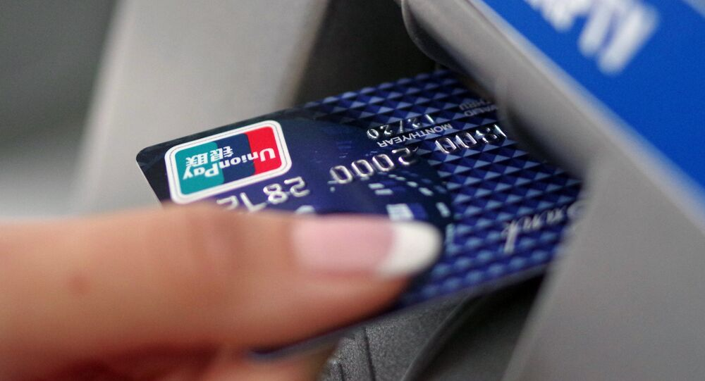 China's UnionPay launches operations in Crimea