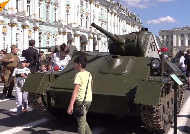Tanks In Saint Petersburg