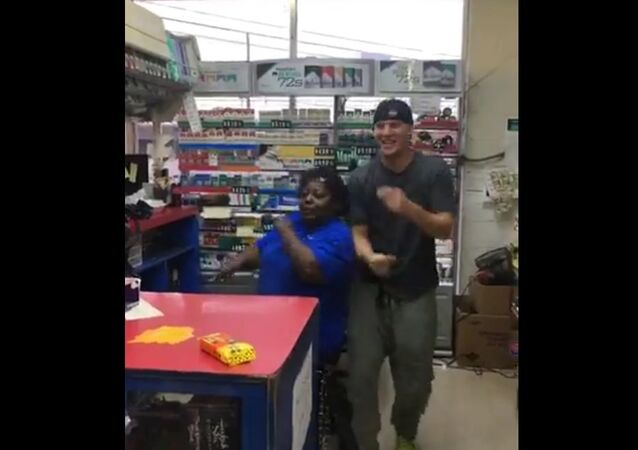 Channing Tatum Dances With Cashier