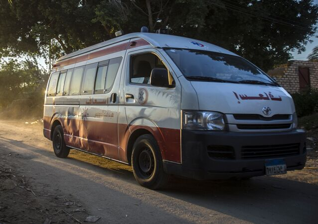 Egypt ambulance. (File)