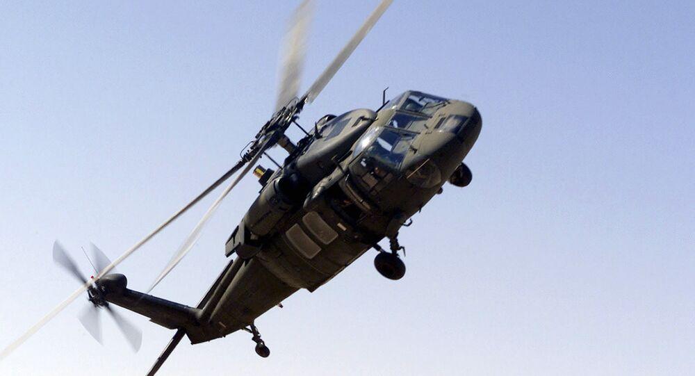 UH-60 Blackhawk helicopter of the Saudi-led Arab coalition. (File)