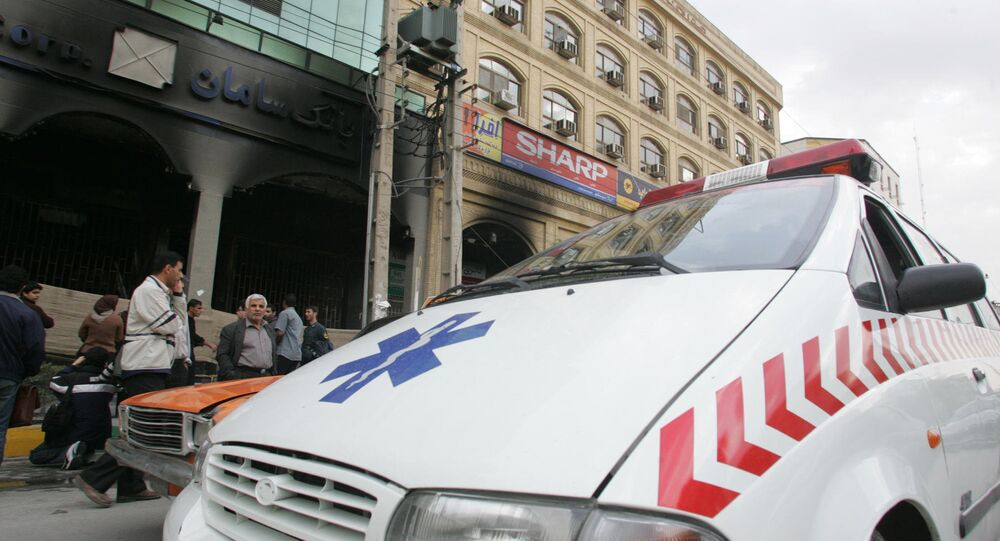 Iranian ambulance. (File)