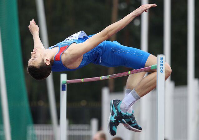 Russia's Daniil Lysenko won silver at the 2017 World Athletics Championships in London.