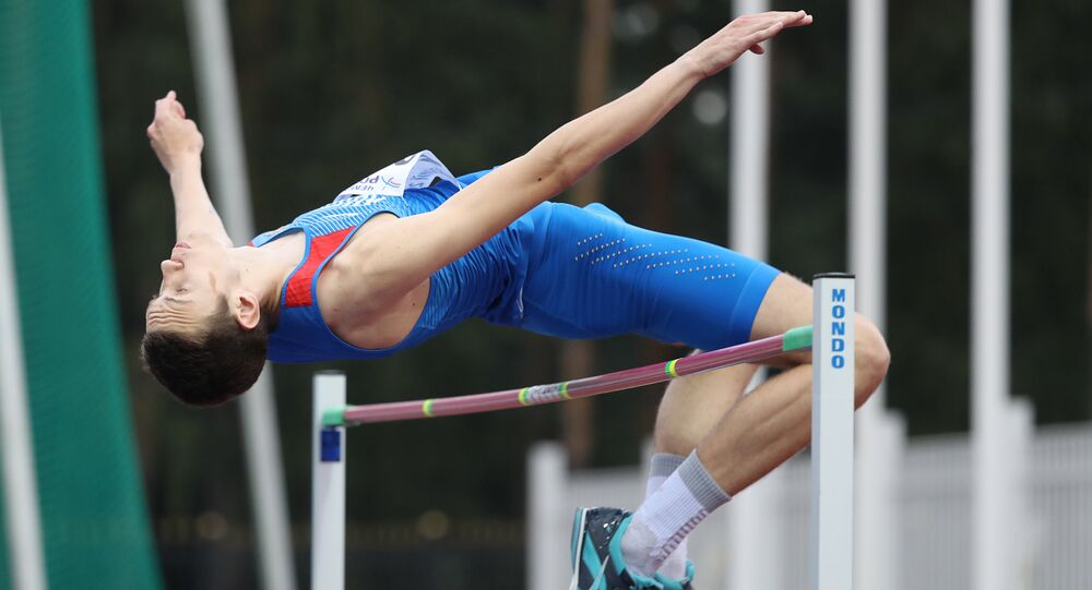 Russia's Daniil Lysenko won silver at the 2017 World Athletics Championships in London.