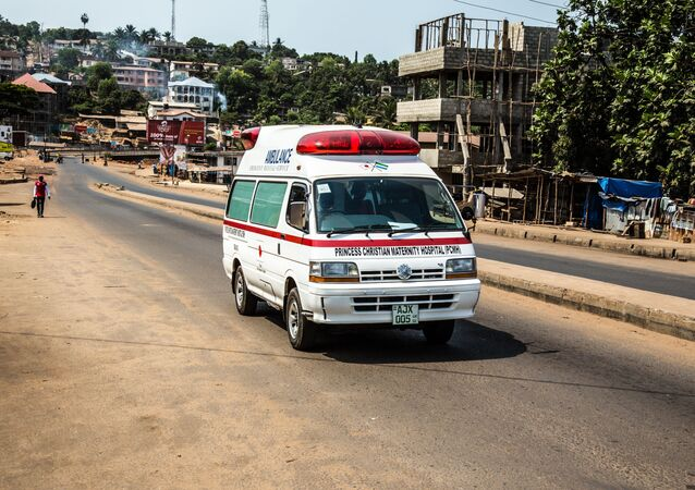 Sierra Leone ambulance. (File)