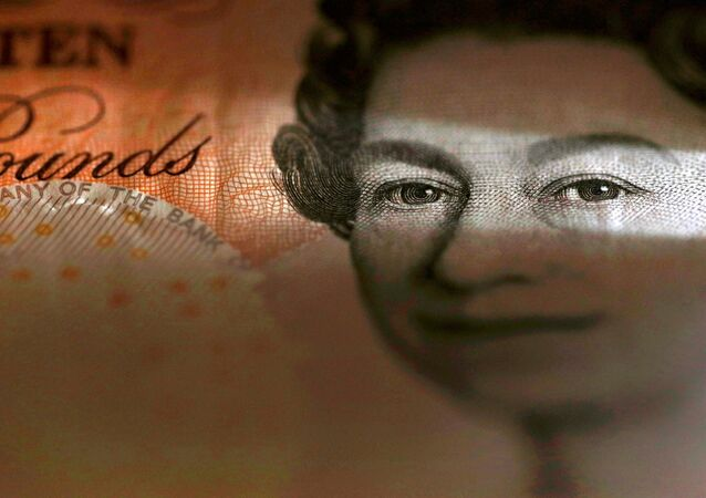 An English ten Pound note is seen in an illustration taken March 16, 2016