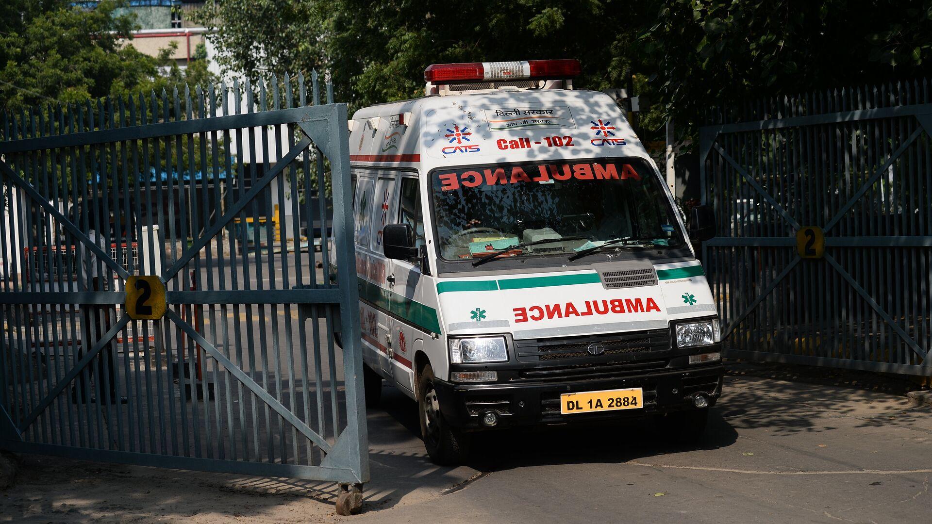India Ambulance - Sputnik International, 1920, 23.07.2021