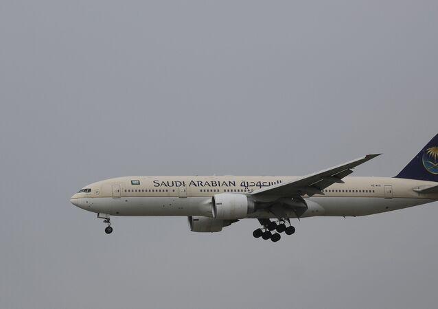 Passenger aircraft of the Saudi Arabian Airlines