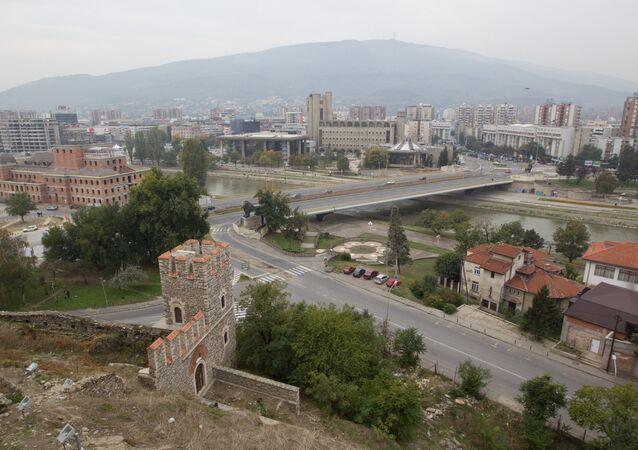View of Skopje. (File)