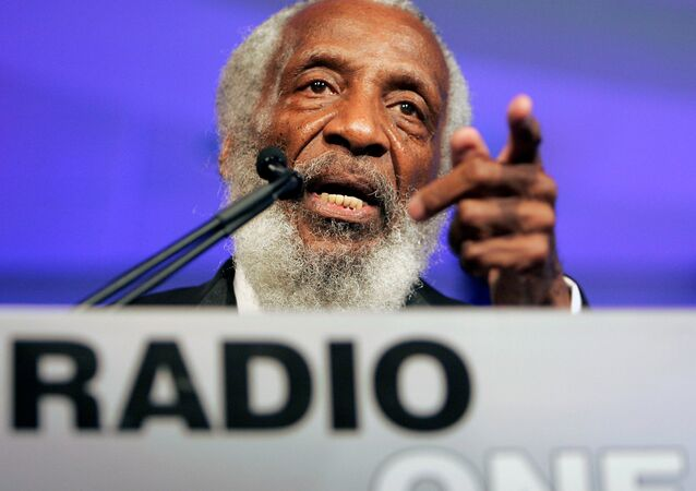 Activist and comedian Dick Gregory
