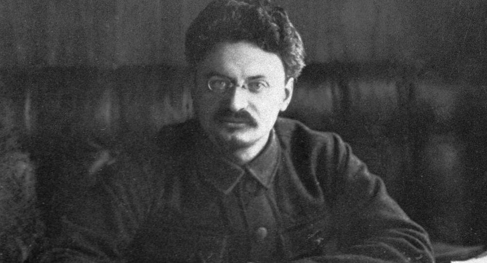 Lev Trotsky, a prominent politician (1879-1840). (File)