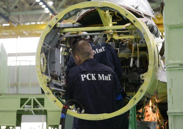 MiG plant in Lukhovitsy. (File)