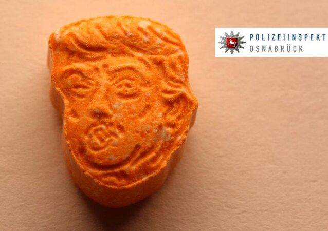 German police say they have seized thousands of ecstasy pills in the shape of President Donald Trump's head, a haul with an estimated street value of 39,000 euros ($45,900).