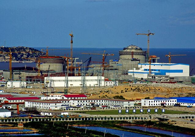Construction of Tianwan NPP in China. File photo