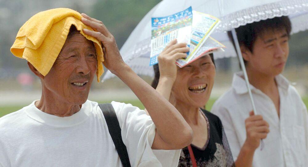 China Heat Wave
