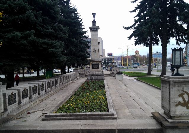 Soviet soldiers monument in Kosice