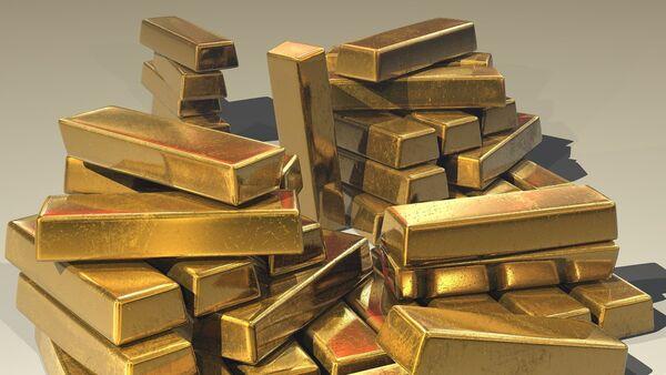 Gold ingots - Sputnik International