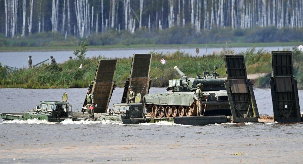 Army 2017 International Military-Technical Forum. Day three