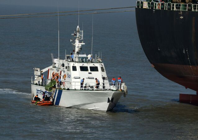 Indian Coast Guard vessel (File)