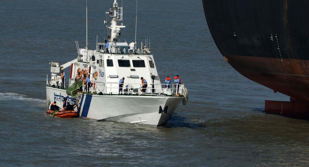 Indian Coast Guard vessel (File)