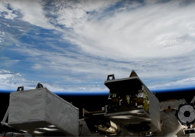 Space Station Camera Captures New Views of Hurricane Harvey