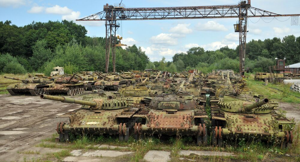 Armored vehicle plant in Lvov Region