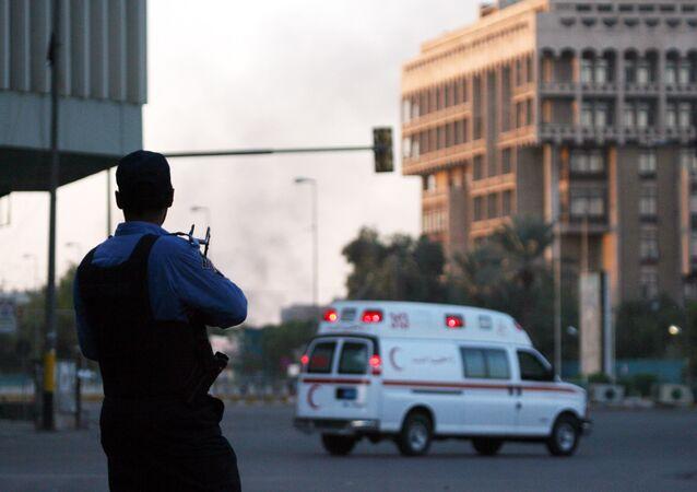 Iraqi police in Baghdad. (File)