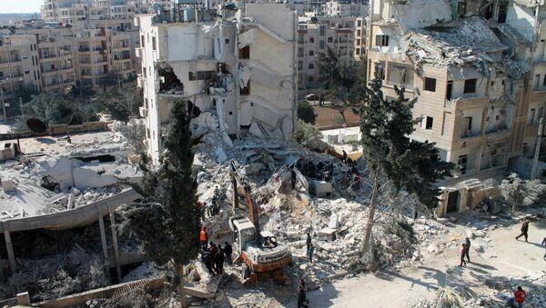 Syrian northwestern city of Idlib. File photo - Sputnik International