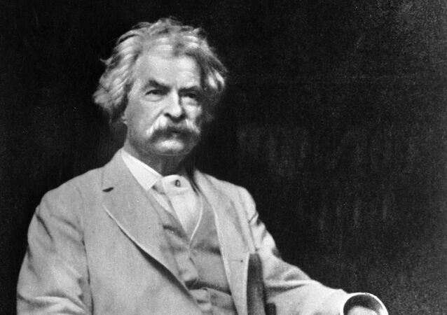 American writer Mark Twain. (File)