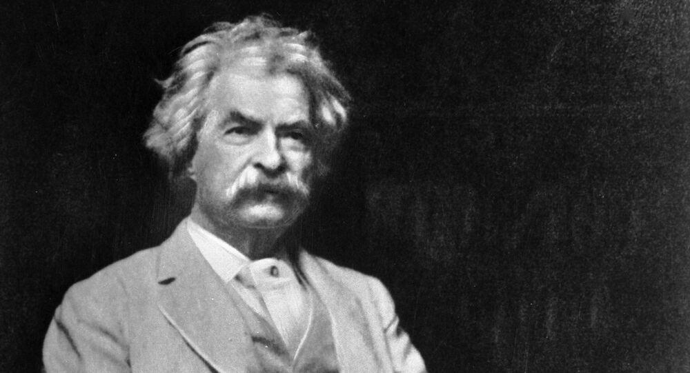 American writer Mark Twain. (File)