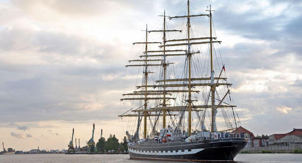 The Kruzenshtern ship. (File)