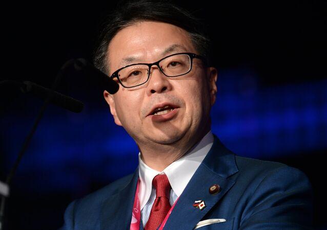 Japanese Minister of Economy, Trade and Industry Hiroshige Seko. File photo