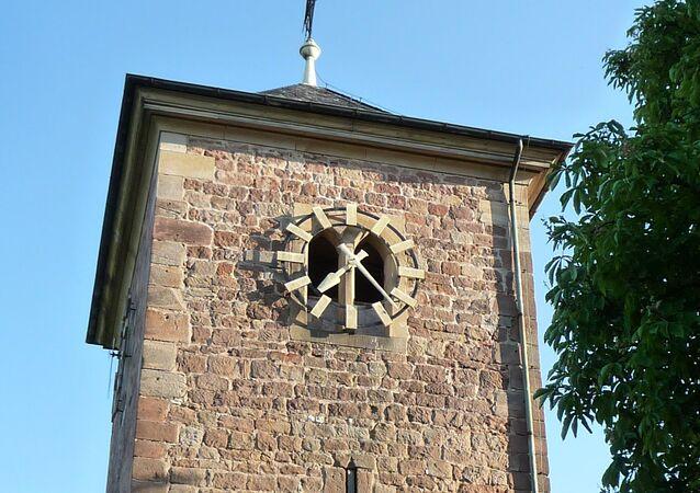 St Jacob's church in Herxheim, Rhineland-Palatinate