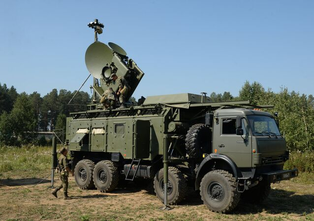 Electronic warfare units of the Central Military District during a special tactical drill at Sverdlovsky base