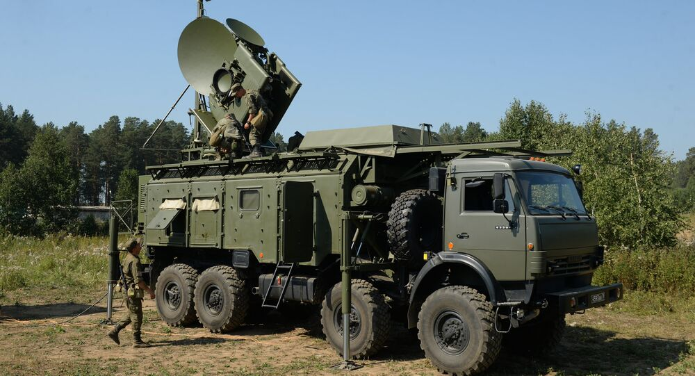 Electronic warfare units of the Central Military District during a special tactical drill at Sverdlovsky base. File photo
