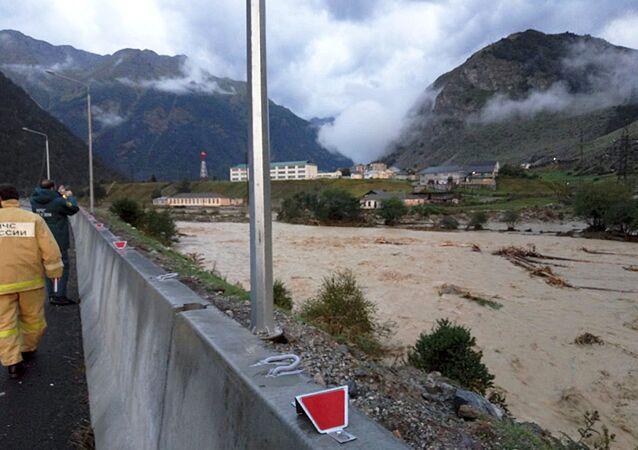 Mudslide in Kabardino-Balkarian Republic
