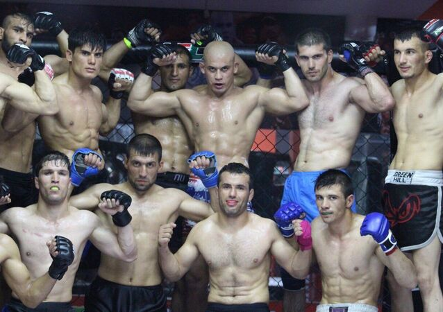 First private Mixed Martial Arts (MMA) club opens in Afghanistan.