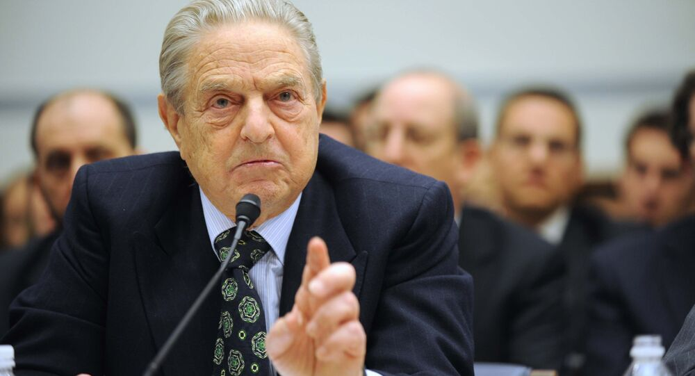 Soros Fund Management Chairman George Soros testifies on Capitol Hill in Washington (File)