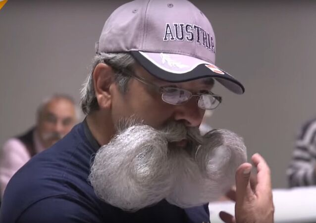 World Beard & Moustache Championships Held In Texas