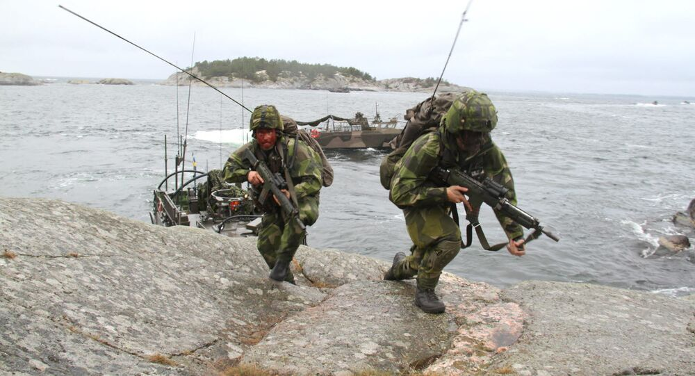 Swedish marines (File)