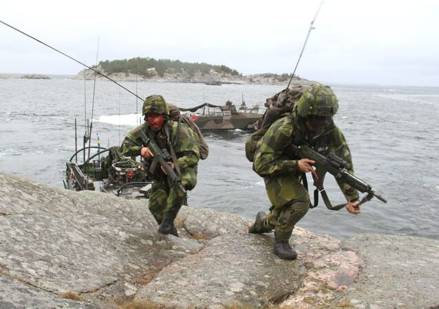 Swedish marines (File)