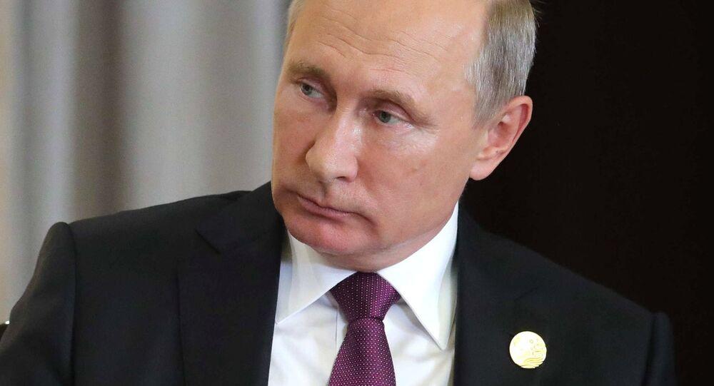 Russian President Vladimir Putin participates in BRICS summit