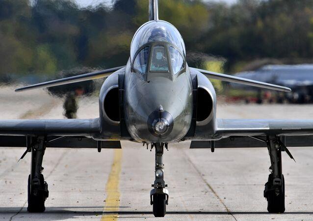 Super Galeb G-4 multi-purpose jet. (File)