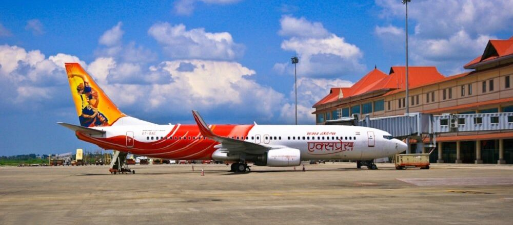Air India Express Boeing 737-800W VT-AXE at Cochin International Airport (File)