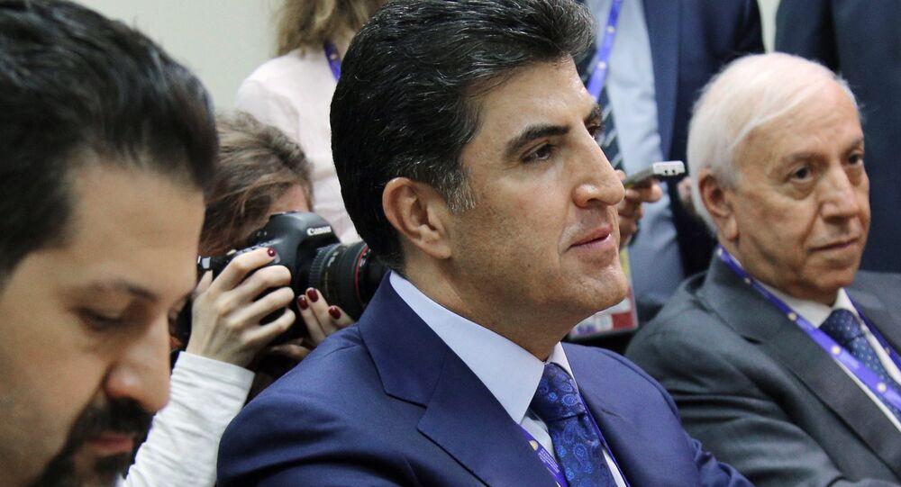 Prime Minister of Iraqi Kurdistan Nechirvan Barzani