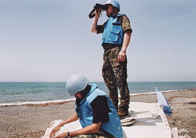 UN peacekeepers. (File)