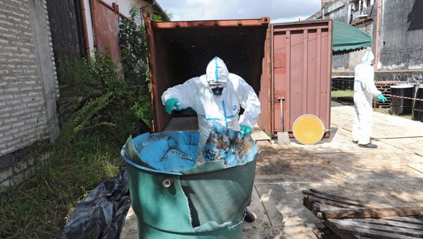 Toxic waste. (File) - Sputnik International